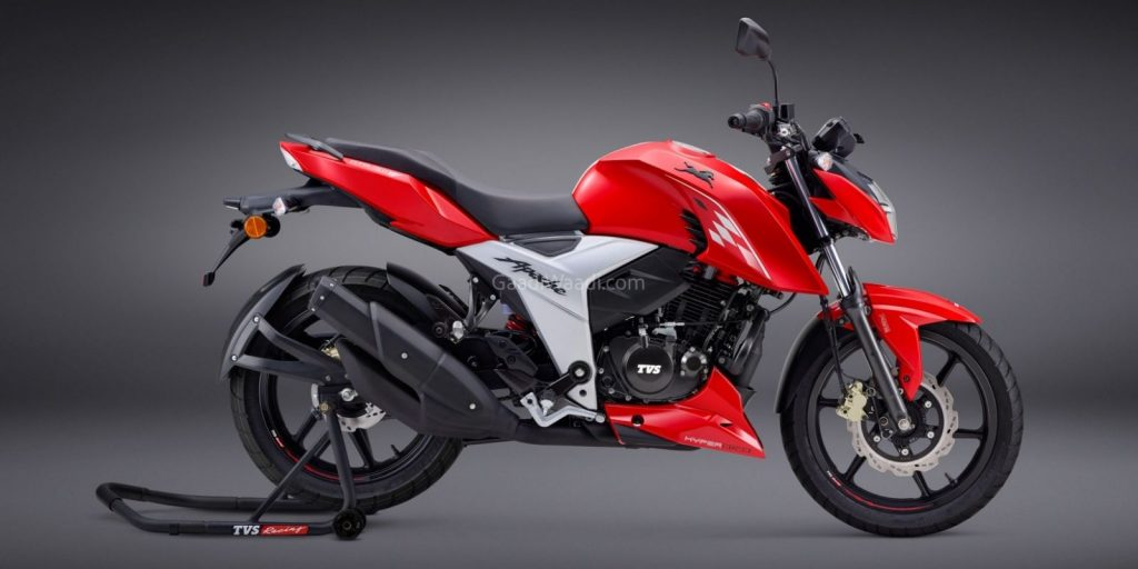 TVS Motor Company announces advanced TVS Apache RTR 160 4V series of motorcycles with TVS SmartXonnectTM, Headlamp with DRL and Three Ride Modes 1